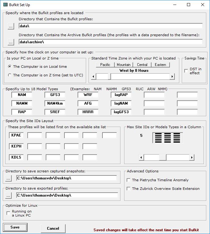 01-bufkit-setup